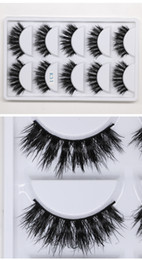 Lashes Individual False Eyelashes Australia - 2019 MINK eyelashes 6 styles 5pair lot 3D False Eyelash Long Individual Mink Lashes Extension Makeup