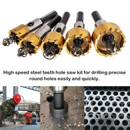 $enCountryForm.capitalKeyWord NZ - Carbide Tip Drill Bit Saw Set Metal Wood Drilling Hole Cut Tool Drill Bits for Installing Lock 16 18.5 20 25 30mm