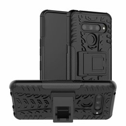 $enCountryForm.capitalKeyWord Australia - 6.4 inch For LG V50 ThinQ Case Heavy Duty Armor Shockproof Hybrid Hard Soft Silicone Rugged Rubber Phone Case Cover