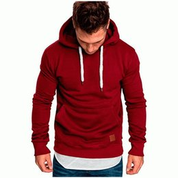Wholesale outdoor leisure sport coats resale online – gym New pattern Men s Hoodie Fashion Pure Outdoor Sports Hat Leisure Grab Suede Guard Coat Hot selling in Europe