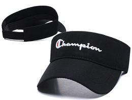 Luxo Sunhat homens designer de chapéu de golfe pala de sol sunvisor chapéu de festa boné de beisebol chapéus de sol protetor solar chapéu de Tênis Praia elástica chapéus frete grátis venda por atacado