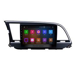 $enCountryForm.capitalKeyWord UK - Android 9.0 HD Touchscreen 9 inch Car GPS Navigation Radio for 2016 Hyundai Elantra with Bluetooth AUX Mirror Link support OBD2 DAB+ Car DVD