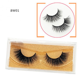 MediuM eyelashes online shopping - 2019 New D Mink Eyelashes Eyelash False Eyelash Luxury Hand Made Mink Lashes Medium Volume Cruelty Free Mink False Eyelashes
