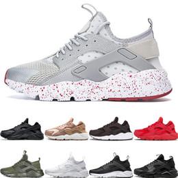 $enCountryForm.capitalKeyWord Australia - Ultra Huaraches 4.0 1.0 Running Shoes Men Women Runner Sneakers Tripe Black White Red Rose Gold Designer Sport Trainers 36-45