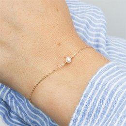 Freshwater pearl silver bracelets online shopping - CC Pure Silver Bracelets For Women Adjustable Charm Bracelet Freshwater Pearls Fashion Jewelry Simple Design Bijoux CCB056