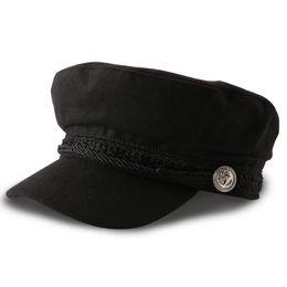 $enCountryForm.capitalKeyWord Australia - Spring Summer Men's Baseball Cap Retro Hats High Quality Newsboy Caps Boy Hat Felt Winter Ladies Black Berets Free Shipping Sa