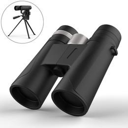 telescope definition 2019 - 12X42 binoculars Handheld Telescopes high-definition low-light night vision prevention hunting HD Optics Monocular Teles