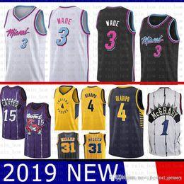 56ceedc4a27b Heats jersey online shopping - Vince Carter Dwyane Wade Miami Jersey Heat  SUP Tracy McGrady Indiana