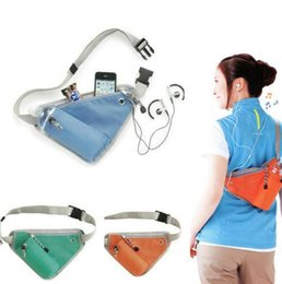 Cheap Phone Wholesale Free NZ - Cheap wholesale Sport outdoor waistpacks Riding bag Travel storage bag Triangle waistpacks free shipping 3colors