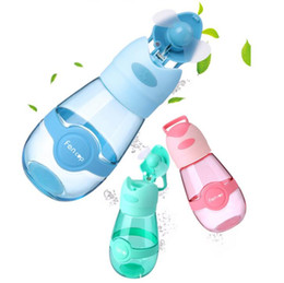 $enCountryForm.capitalKeyWord UK - Fan Cup Fans Water Bottle kids Summer Outdoor Sports Cooling Cups Portable Travel Mug USB Charge Baby Feeding Cups Camping Fan Cups LT349