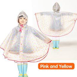 $enCountryForm.capitalKeyWord NZ - Qian Rainproof Impermeable Children Eva Coat Eco-friendly Kids Waterproof Cloak School Tour Rainwear Rain Gear Poncho Q190531