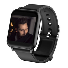 $enCountryForm.capitalKeyWord Australia - Smart Watch Men Women Sports Fitness Activity Heart Rate Tracker Blood Pressure Ip67 Run Smart Watches Bracelet For Ios Android MX190716