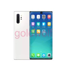 $enCountryForm.capitalKeyWord Australia - Full Screen Goophone Note 10+ Note10 plus 6.8inch 1GB 16GB Show 1TB Show 5G Android GPS Wifi Bluetooth 3G Unlocked SmartPhone