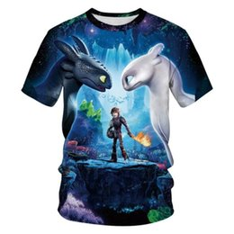 T Shirt Digital Printing Sport NZ - Europe and the United States new toothless digital printing sports quick-drying T-shirt female street short-sleeved round neck lovers shirt