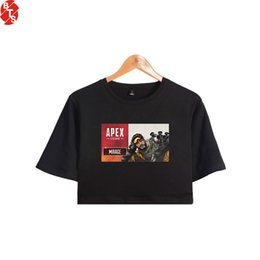 $enCountryForm.capitalKeyWord Australia - APEX Legends Fashion Printed Women Crop Tops Summer Short Sleeve Tshirts 2019 Hot Sale Casual Girls Sexy Tee Shirts