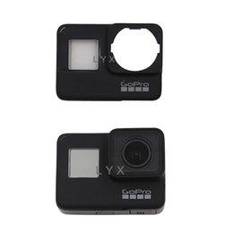 Replacement Frame Front Door Faceplate Case Panel For Gopro Hero7 Action Cameras