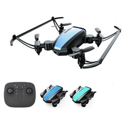 Discount radio control drones Drone GW125 Mini Quadrocopter Dron Radio-Controlled Foldable RC Helicopter Drones Quadcopter for Kids VS H36 E61 S9W