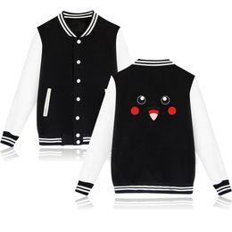 $enCountryForm.capitalKeyWord UK - 2019 New Fashion Men Women Teens Sweatshirts Pikachu Printing Stylish College Plus Size Jackets for Men Women Boys Girls