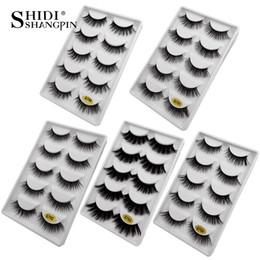 $enCountryForm.capitalKeyWord NZ - 3D Mink Lashes False Eyelashes 5Pairs 100% Hand made Mink Eyelashes Natural Long eye lashes Full strip makeup Fake eyelash