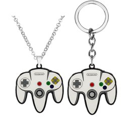 $enCountryForm.capitalKeyWord NZ - Game Controller Necklace&Keychains Boyfriend Perfect Gift Creative Jewelry Video Game Controller Pendant Keyring Car Key Chains