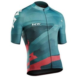 Bicycle Short Men UK - Men NW Cycling Jersey 2019 Breathable road bicycle Clothing Racing Sports Bike Tops Short Sleeve Bicicleta Maillot ropa Ciclismo Y012903