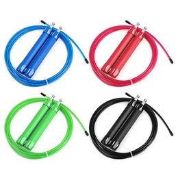 $enCountryForm.capitalKeyWord Canada - 3M Jump Ropes Skipping Ropes Cable Steel Adjustable Fast Speed Jump Crossfit Fitness Training Boxing Sports Exercises