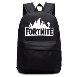 Plain canvas backPacks for children online shopping - Fortnite Night  Luminous Backpacks Fortnite School Bags for f4a697a992314