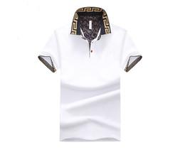 $enCountryForm.capitalKeyWord Australia - Fashion- Mens Polo Shirt Brand Plus Size M-5XL Cotton Polo Shirt Men Slim Fit Brand Clothing Black Solid Polo Shirt