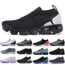 Canvas Shoes 11 Australia - 2019 Knit 2.0 Fly 1.0 Men Women BHM Red Orbit Metallic Gold Triple Black Designers Sneakers Trainers Running Shoes US5.5-11