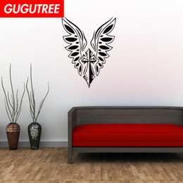 bird design wallpaper NZ - Decorate Home bird wings cartoon art wall sticker decoration Decals mural painting Removable Decor Wallpaper G-2179