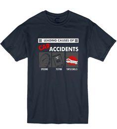 $enCountryForm.capitalKeyWord NZ - 2019 Leading Cause Car Accidents Gamer Cart Geek Nerd Unisex T-Shirt T Shirt Gift
