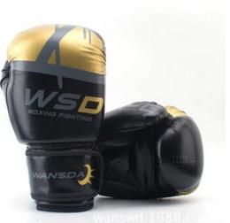 12 Gear Australia - High Quality Adults Women men Boxing Gloves Mma Muay Thai Boxe De Luva Mitts Sanda Equipments8 10 12 14 6oz