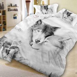 30 Novo Design 3D Cat Animais Impressão Bedclothes Bedding Decor Inverno Confortável Conjuntos de Cama housse de couette