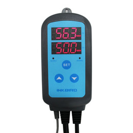 Freeshipping Pre-wired Digital Dural Stage Humidity Controller, Dehumidification Humidifaction Control for Humidifier and Fan