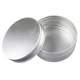 Box For Jar Cream Australia - Aluminium Specimen Box with Thread Travel Bottles Cosmetic Container Empty Cream Jar Pot with Lid for Makeup