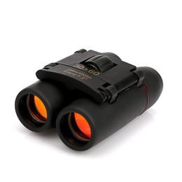 Telescope free shipping online shopping - 30x60 Red Film High power Binoculars Portable Mini telescope Military Binoculars Telescope Telescopio High Quality