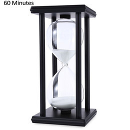 Countdown CloCk minutes online shopping - Wooden Sandglass Sand Hourglass Minute Countdown Timer Clock Xmas Birthday Gift Home Decoration Reloj De Arena Q190617
