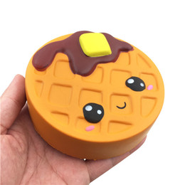 $enCountryForm.capitalKeyWord UK - 2019 New 11cm Waffle PU Squishy Depression Toys For Kids Slow Rising Home Decoration Children Gift Novelty