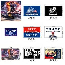 Trumpf-Behälter-Flagge Donald John Banner Usa-Präsident Decortive Train Keep America Great Verschiedene Stile 12wf F1 im Angebot
