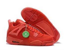 $enCountryForm.capitalKeyWord Australia - 2019 New 4 Basketball Shoes Orange Red Blue Men high Quality 4s Yellow Sports Sneakers Size 7-13