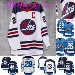 42edd0077  29 Patrik Laine Jersey Winnipeg Jets Heritage Classic Third 33 Dustin  Byfuglien 44 Josh Morrissey 55 Mark Scheifele Custom Hockey Jerseys