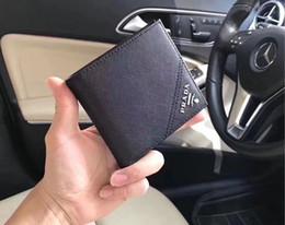 venda por atacado Nova 2020 Homens Carteiras Genuine Designer couro mens carteira Curto Cartão de bolso Bolsa Com Coin titulares frete grátis 312