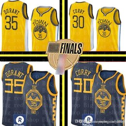 2db07fcd527 Cheap Stephen Curry Jerseys Australia - Warriors Stephen 30 Curry Mens  Kevin 35 Durant Jersey Embroidery