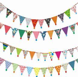 $enCountryForm.capitalKeyWord NZ - 2019 New 3m Cartoon cute Pennant Banners For Kids Birthday Party Baby Shower Decoration Wedding Party Supplies