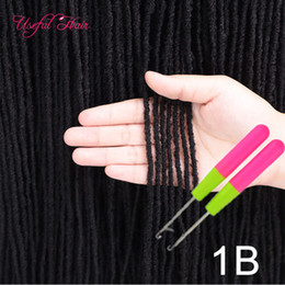 hair sisters NZ - Dreadlocks Sister Locs Micro Locs Crochet Hair Extensions Synthetic Hair Weave 18 Inch hooks gift Straight for Women Dhgate DIY Micro