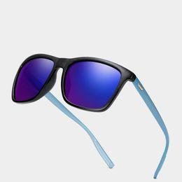 Prescriptions Sunglasses UK - New Design TR90 Ultralight Short Sight Sun Glasses Polarized Mirror Sunglasses Custom Made Myopia Minus Prescription Lens -1To-6