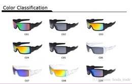 Ski Goggles Mirror NZ - drive Biking Eyewears Men Cycling Goggles Climbing Men Skiing Outdoor Sports UV400 Protection riding Sunglasses 9colors free shipping