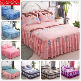 full size kids beds Australia - Adult Kids Child Boy Girl High Quality Bed Skirt Single Twin Full Queen King Size Bed Sheet Cover Linen 150x200 180x220 200x220