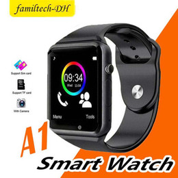 $enCountryForm.capitalKeyWord Australia - Waterproof A1 Smart Sport Watch Bluetooth GSM Sim Phone Camera For Android iOS SIM Intelligent mobile phone Sleep State Smartwatch