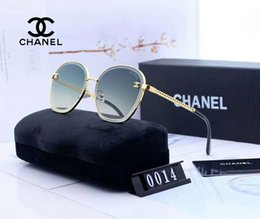 Wholesale Designer Sunglasses Luxury Sunglasses Fashion Brand for Woman Glasses Driving UV400 Adumbral with Box and Logo C0014 High quality New Hot